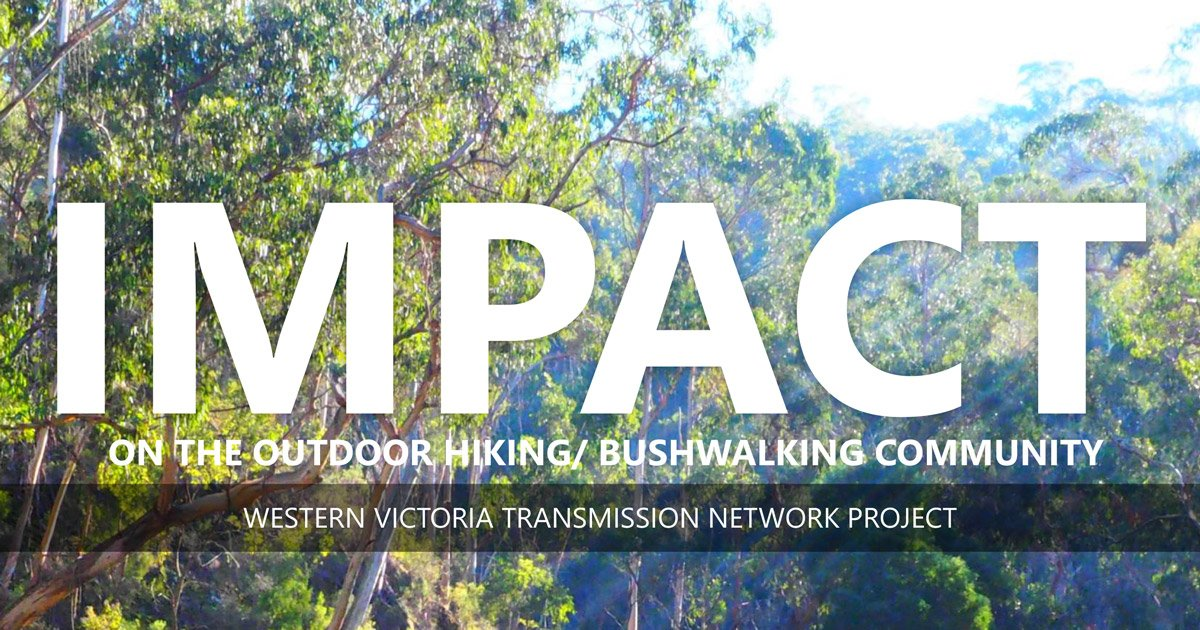Support of Victoria's Largest Hiking Community